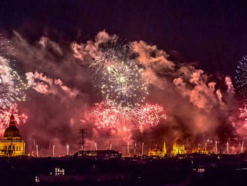 újévi egységes gasztronómia